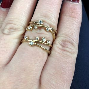 Stella and Dot Celestial Ring Size 8